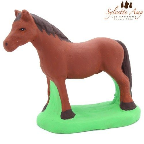 photo de cheval marron