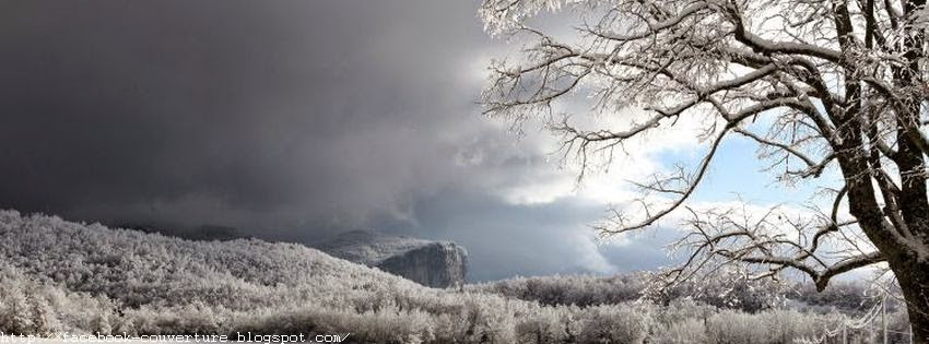 photo de couverture facebook hiver