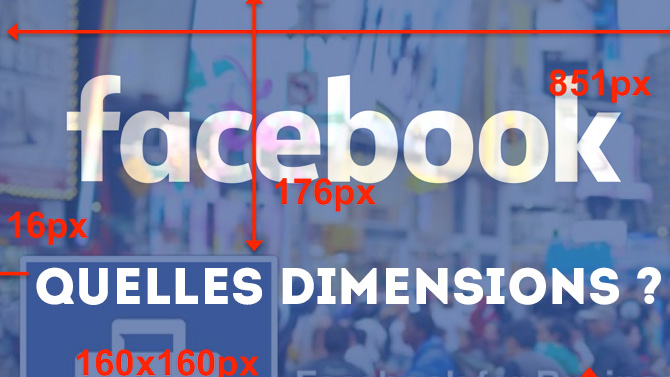 photo de couverture facebook taille