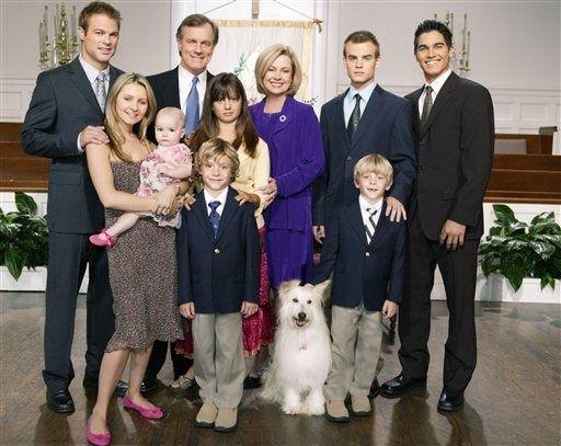 photo de famille americaine