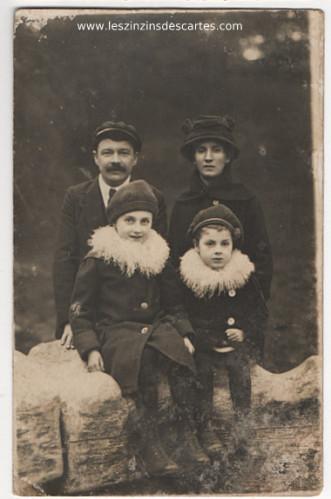 photo de famille ancienne