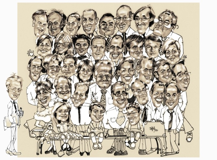 photo de famille caricature