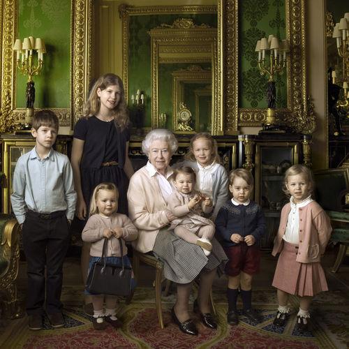 photo de famille celebre