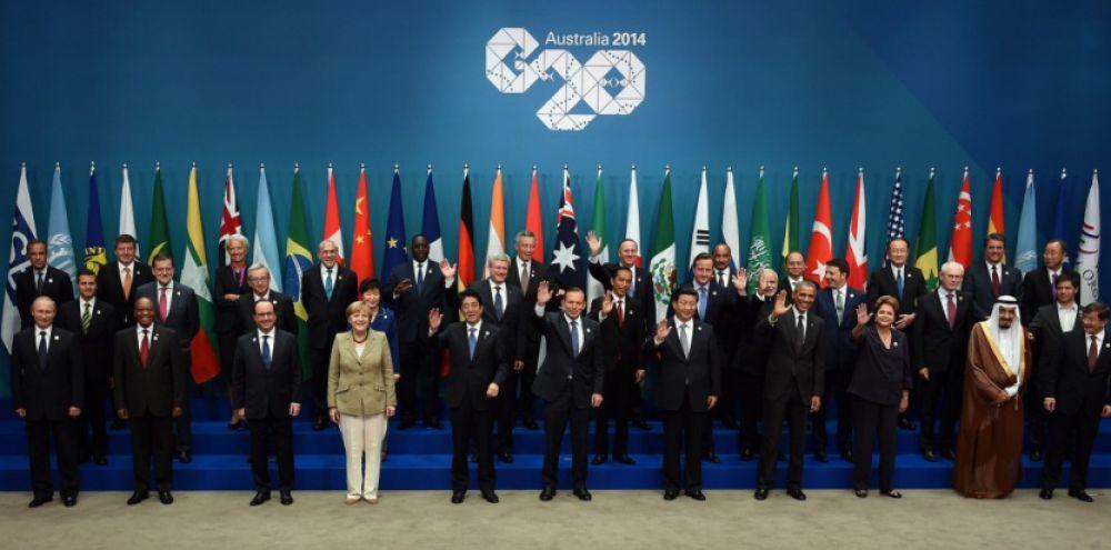 photo de famille g20