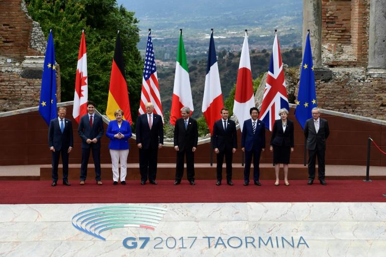 photo de famille g7