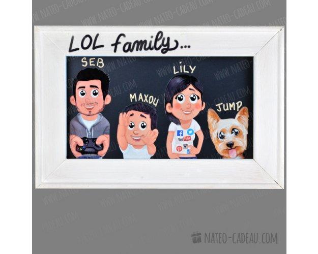 photo de famille humoristique