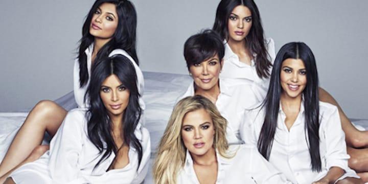 photo de famille kardashian 2018