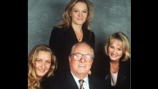 photo de famille le pen
