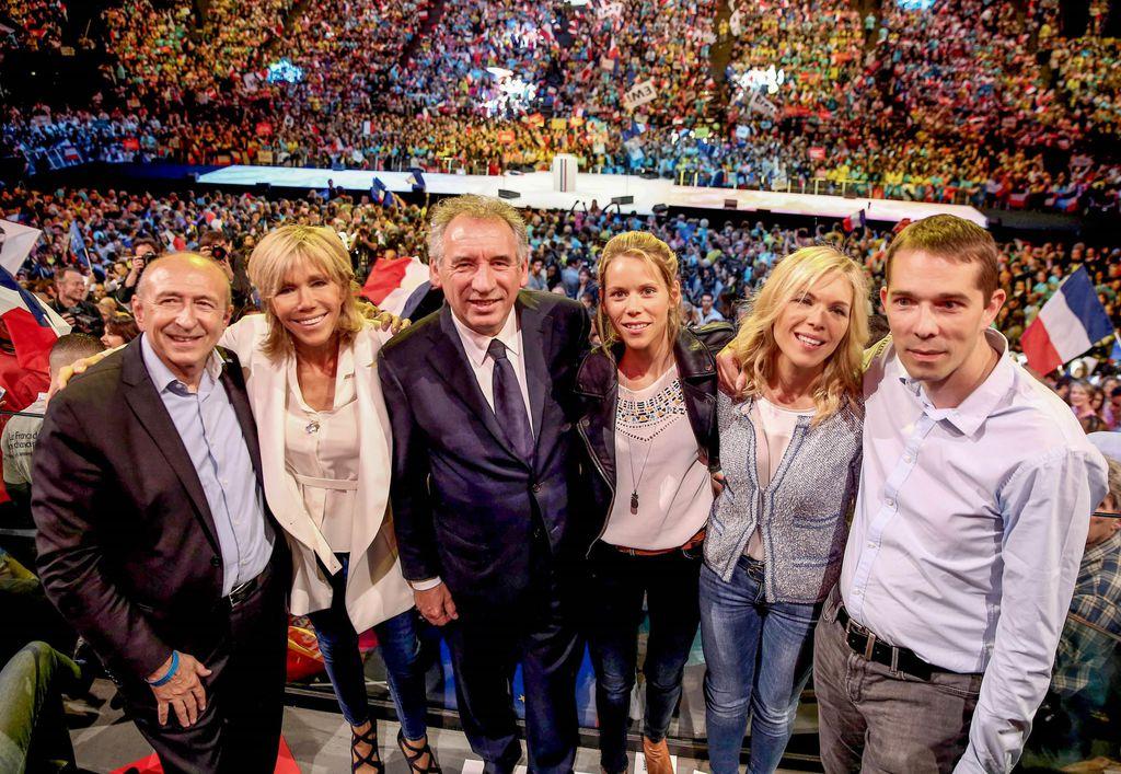 photo de famille macron