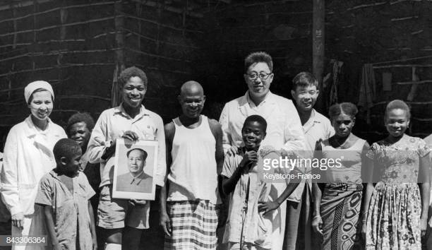 photo de famille mao