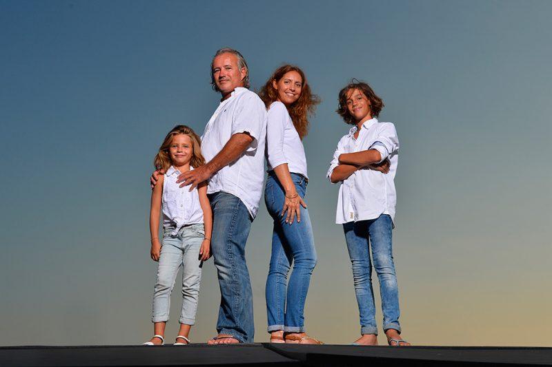 photo de famille nice