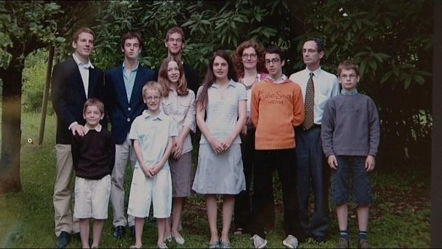 photo de famille nombreuse