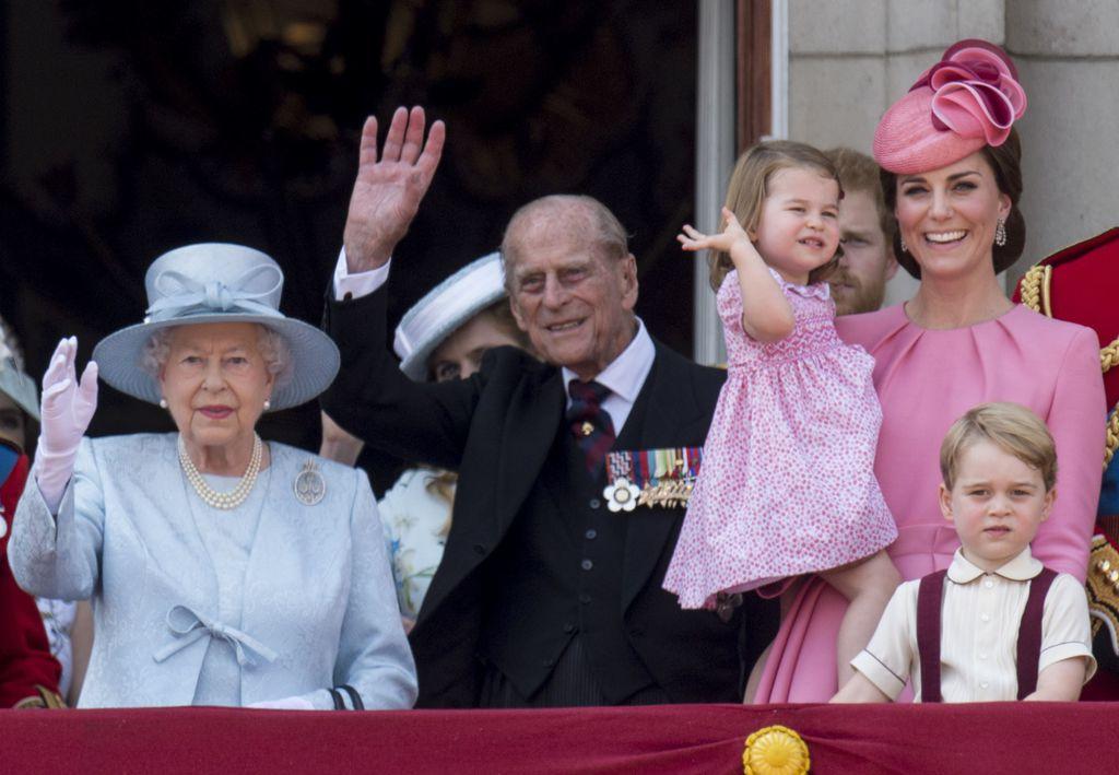 photo de famille reine elisabeth