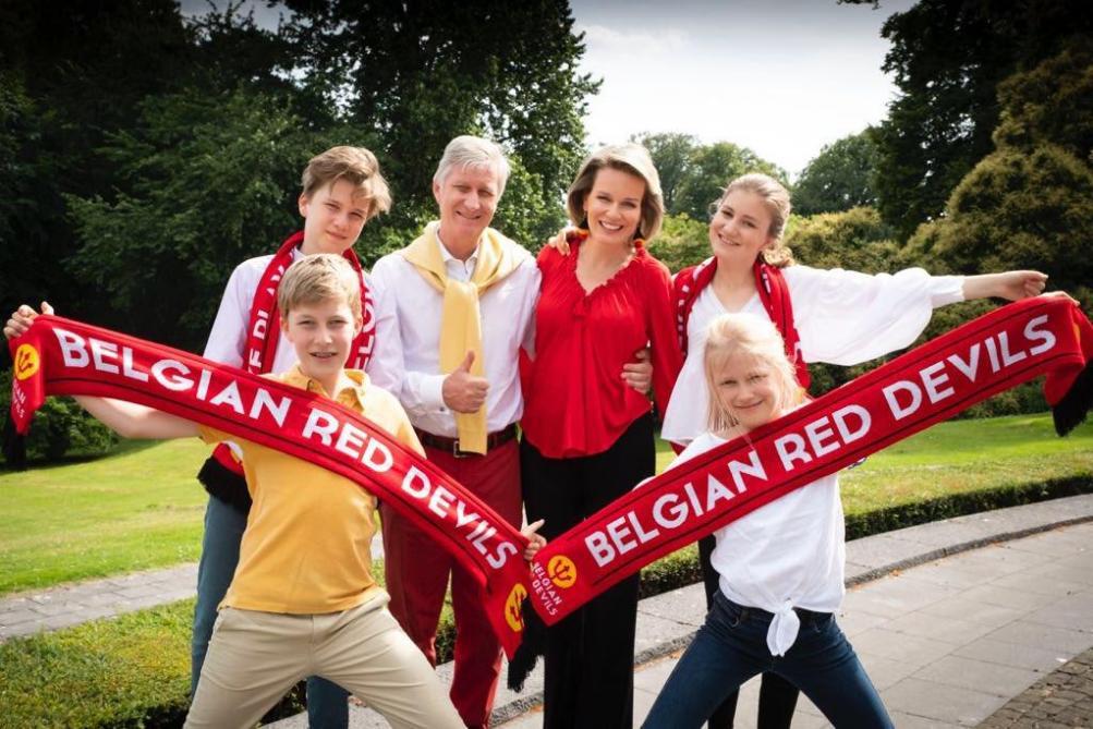 photo de famille royale belge