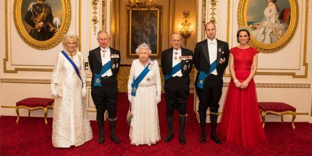 photo de famille royale d'angleterre