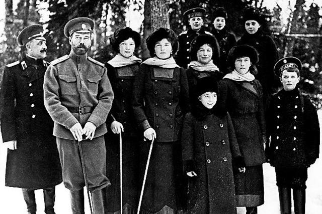 photo de famille russe