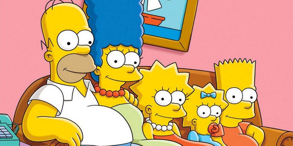 photo de famille simpson