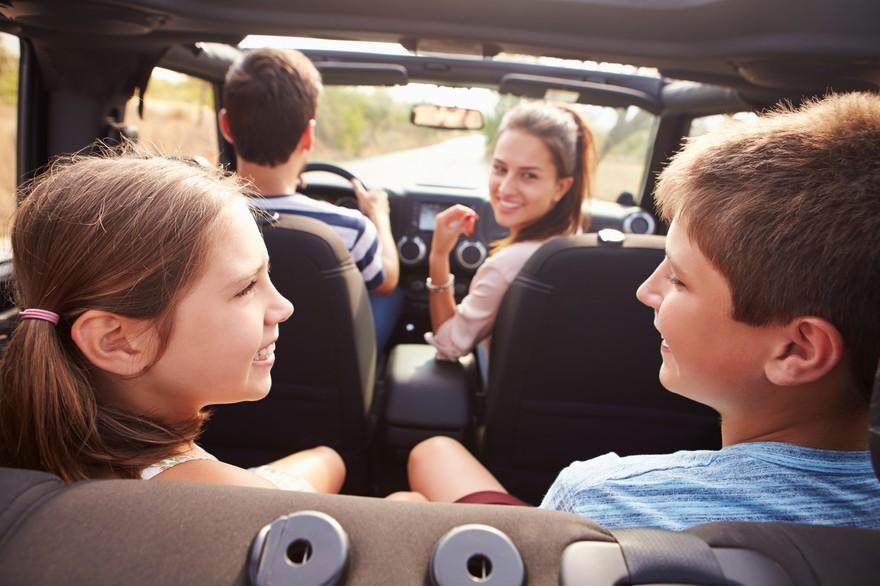 photo de famille voiture